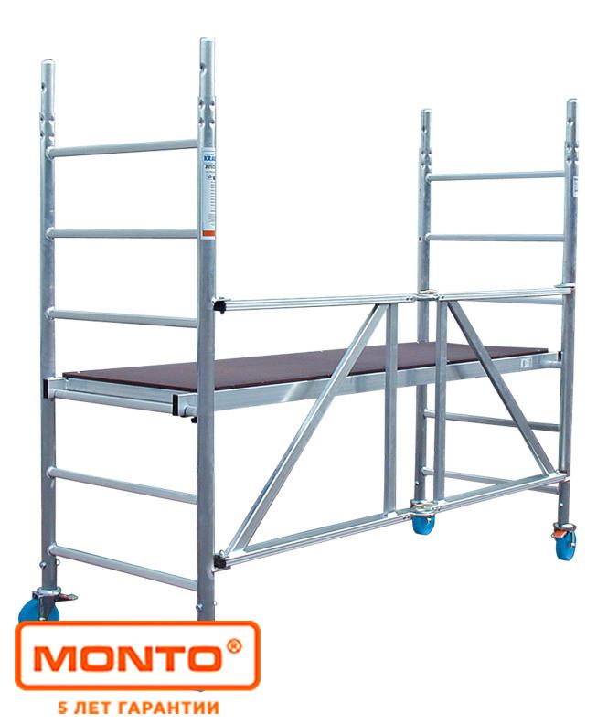Алюминиевая складная вышка-тура, раб. высота 3.7 м KRAUSE PROTEC XS