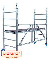 Алюминиевая складная вышка-тура, раб. высота 6.8 м KRAUSE PROTEC XS, фото 1