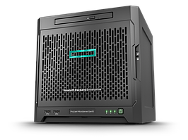 Сервер HP Enterprise MicroServer Gen10/1xAMD Opteron X3216/8 Gb 2400 MHz/Marvell SATA Controller (0,1,10)/1 x