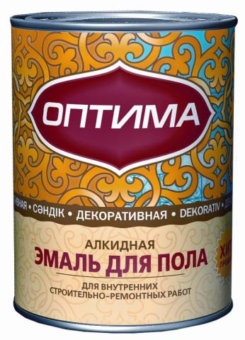 Эмаль ПФ-266 желто-коричневая1.9 кг Оптима