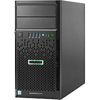 Сервер Tower HP ML30 Gen9\E3-1220v6\8Gb\B140i/ZM (RAID 1+0/5/5+0)\2x1TB 6G SATA\(4 LFF 3.5'' HP)\1x350W \2x1G