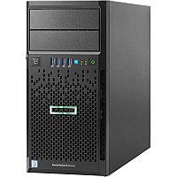 Сервер Tower HP ML30 Gen9\E3-1220v6\8Gb\B140i/ZM (RAID 1+0/5/5+0)\2x1TB 6G SATA\(4 LFF 3.5'' HP)\1x350W \2x1G