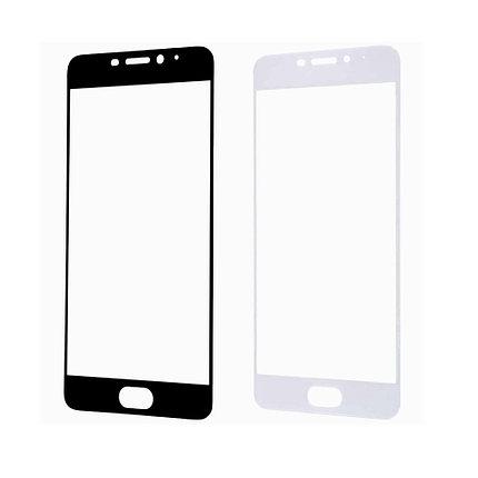 Защитное стекло A-Case Huawei P10 Lite 2017, Окантовка White, фото 2