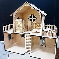 Разборный кукольный домик маленький