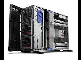 Сервер Tower HP ML350 Gen10\1x3104 Xeon-B\8GB\S100i/ZM(RAID 0,1,5,10)\noHDD\(4/12 LFF 3.5'' NHP)\1x500W\4x1Gb