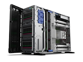 Сервер Tower HP ML350 Gen10\1x4110 Xeon-S\1x16GB\P408i-a/2GB(RAID 1+0/5/5+0/6/6+0/1+0 ADM)\ noHDD\(8/24 SFF 2