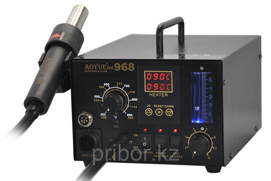 AOYUE INT968 Термовоздушная паяльная станция с паяльником и дымопоглотителем
