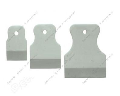 (06867) Шпатели резиновые, набор 3 шт. (40/60/80 мм)