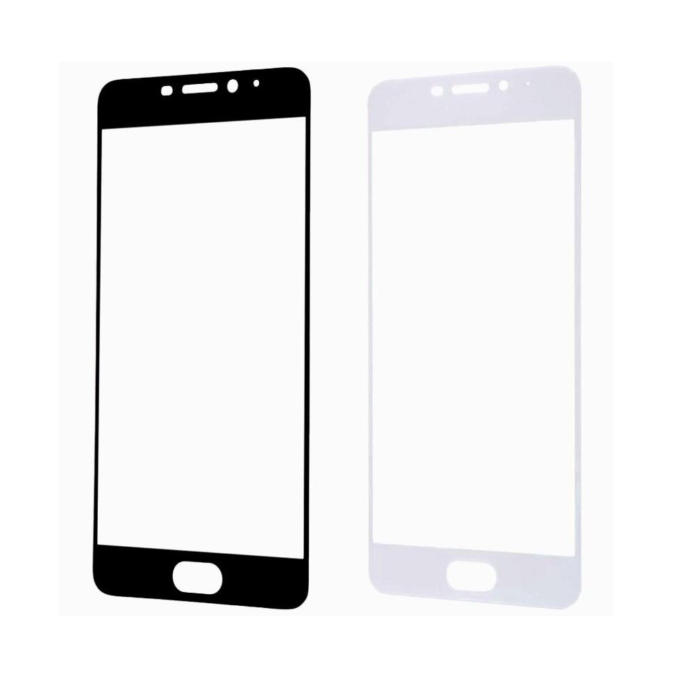 Защитное стекло A-Case Huawei P9 Lite Mini, Окантовка White