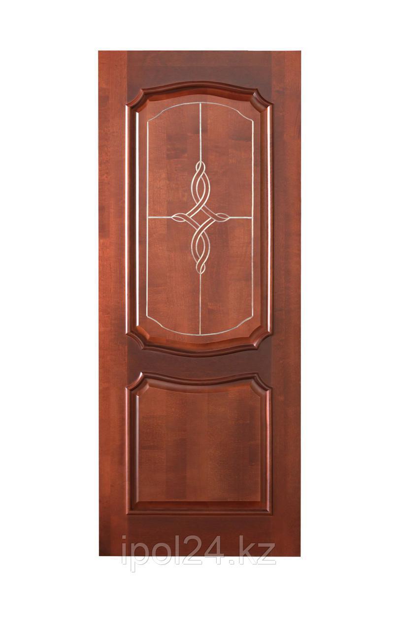 Межкомнатная дверь Массив береза Фиона  ДГ