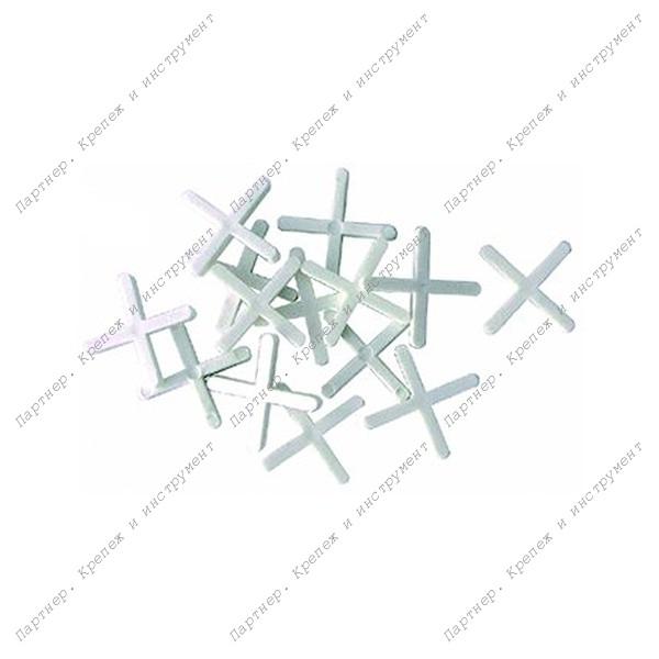 (16620) Крестики для кафеля 2 мм, 200 шт.
