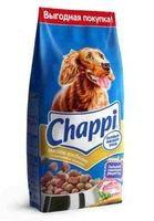 Chappi - Чаппи корм для собак сытный мясной обед (с говядиной), 600г.
