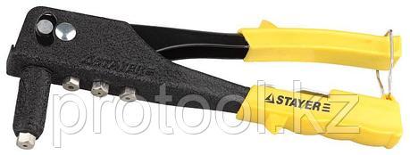 """Заклепочник поворотный 90-180°, STAYER MaxFix """"MS 180"""", для заклёпок d=2,4-4,8 мм из алюминия и стали, ли, фото 2"""