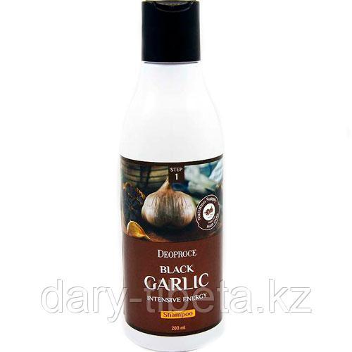 Deoproce Black Garlic Intensive Energy Shampoo-Шампунь для волос с черным чесноком