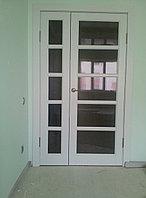 Двупольная межкомнатная дверь ШПОН