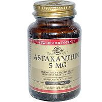 Solgar Астаксантин 5 мг.