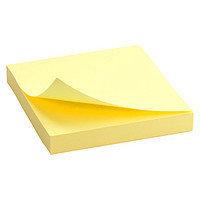 """Клейкие листки DELI """"Neon"""" 76х76 мм, неоново-желтые, 100 листов"""