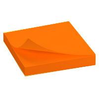 """Клейкие листки DELI """"Neon"""" 76х76 мм, неоново-оранжевые, 100 листов"""