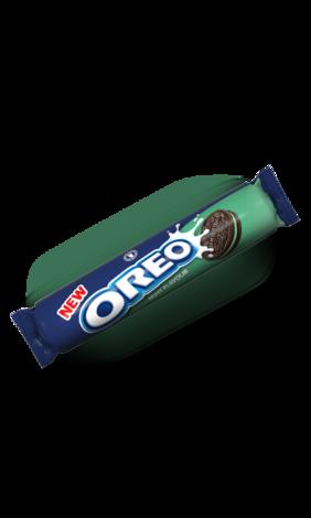 Печенье Oreo Oreo мятный крем Mint Flavour (154 грамм)