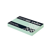 Клейкие листки INDEX 51 х 75 мм  светло-голубые 100 листов