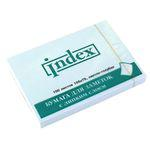 Клейкие листки INDEX 75 х 105 мм  светло-голубые 100 листов