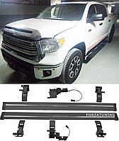 Электрические выдвижные пороги подножки для Toyota Tundra Crew Max 2014+, фото 1
