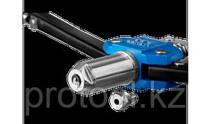 """Заклепочник двуручный силовой, ЗУБР """"Т-64"""" 31197, для заклёпок d=3,2-6,4 мм - алюминий, сталь, нерж сталь, уси, фото 3"""