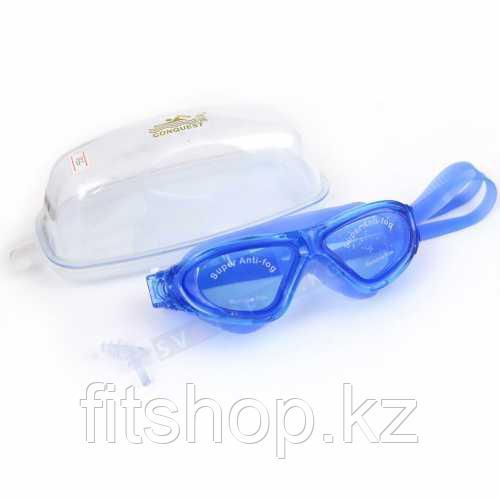 Очки - маска  для плавания Conquest(Детские ,Взрослые)