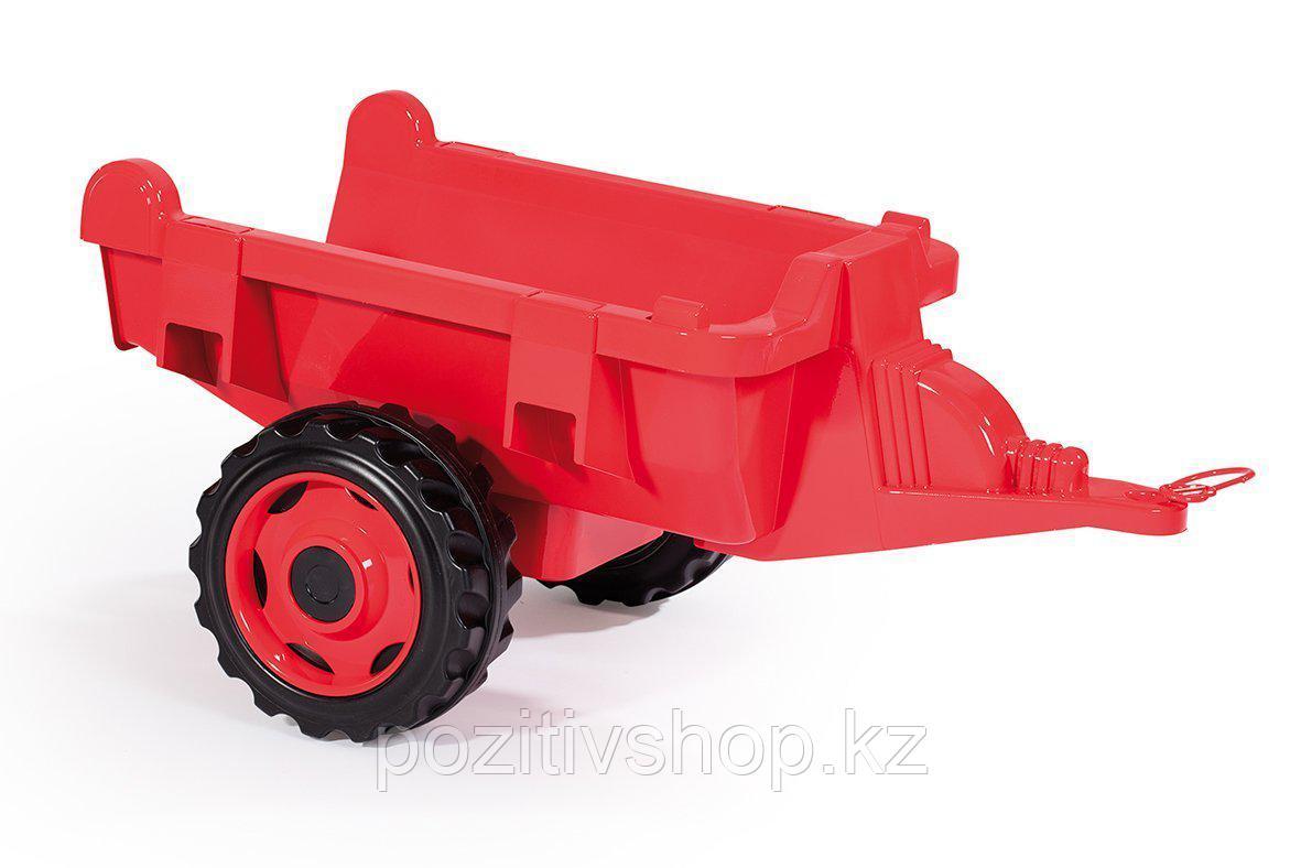 Детский педальный трактор Smoby XXL с прицепом - фото 4
