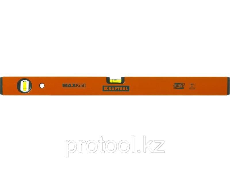 Уровень KRAFTOOL коробчатый усиленный, точность (0,5мм/м), 2 ампулы, 120 см