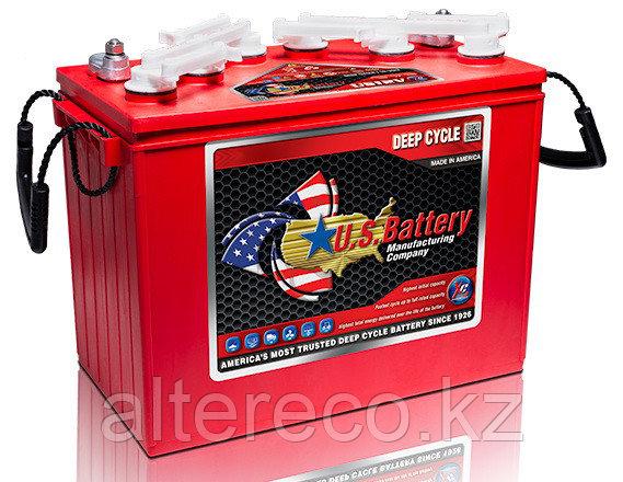 Тяговый аккумулятор US 12V XC2 red (Аналог Trojan T-1275), фото 2