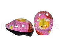 Защитный шлем для детей (розовый)