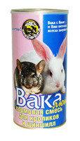 """""""Вака Люкс"""" кормовая смесь для кроликов и шиншил 800г, фото 1"""