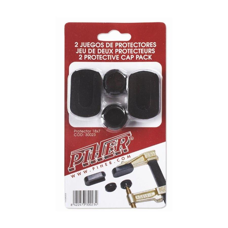 Защитные накладки для струбцин Piher MM, 2 комплекта, Piher 30023