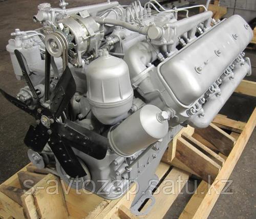Двигатель без коробки передач со сцеплением осн. комплектации (ПАО Автодизель) для двигателя ЯМЗ 238ГМ2-1000146