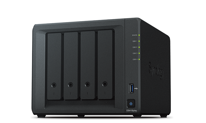 Сервер Synology DS418play 4xHDD NAS