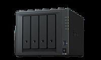 Сетевой NAS-сервер Synology DS918+, 4 отсека для HDD, RAM 4Gb