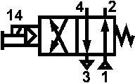 Пневмораспределитель В64-34А-05