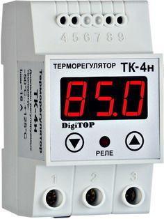 Терморегулятор ТК-4н (0… 125,0°C, 16А)