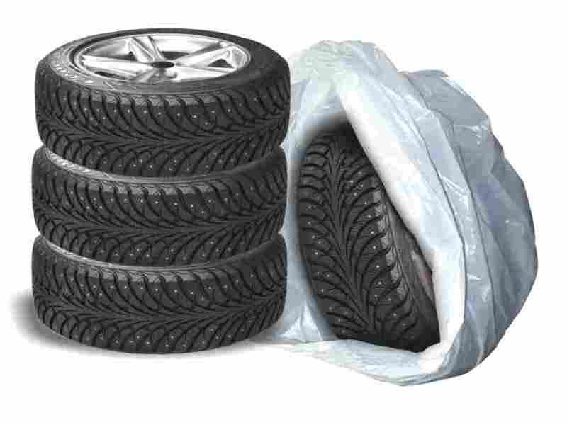 Пакеты для упаковки колес и шин