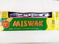 Зубная паста Мисвак Miswak DABUR 190 г.+зубная щетка