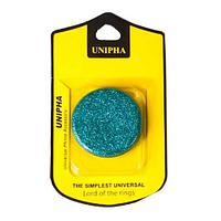 Подставка-держатель для смартфона PopSockets [ПопСокетс] UNIPHA (Голубой)