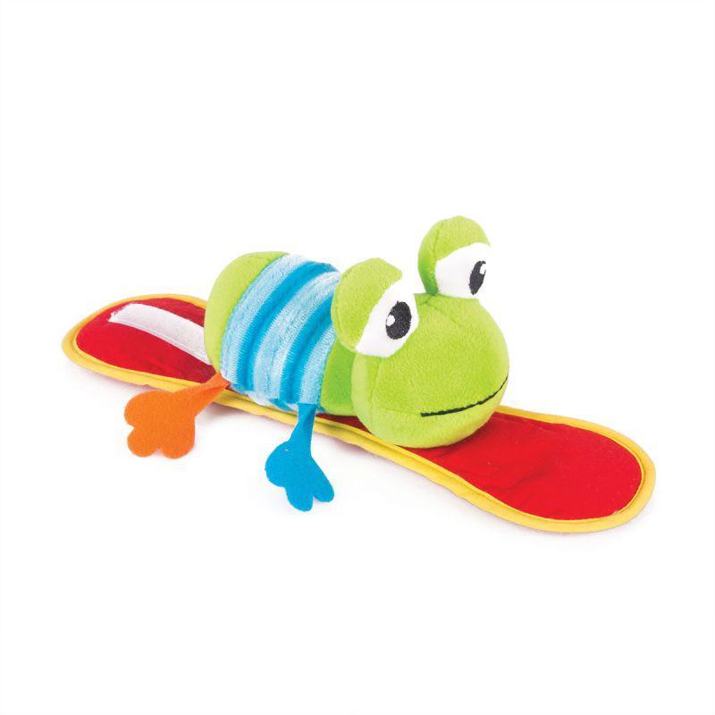 """Happy Snail Мягкая игрушка на коляску """"Лягушонок Квака"""""""