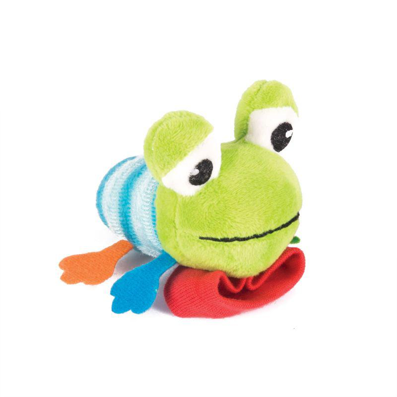 "Happy Snail Мягкая игрушка - погремушка ""Лягушонок Квака"""
