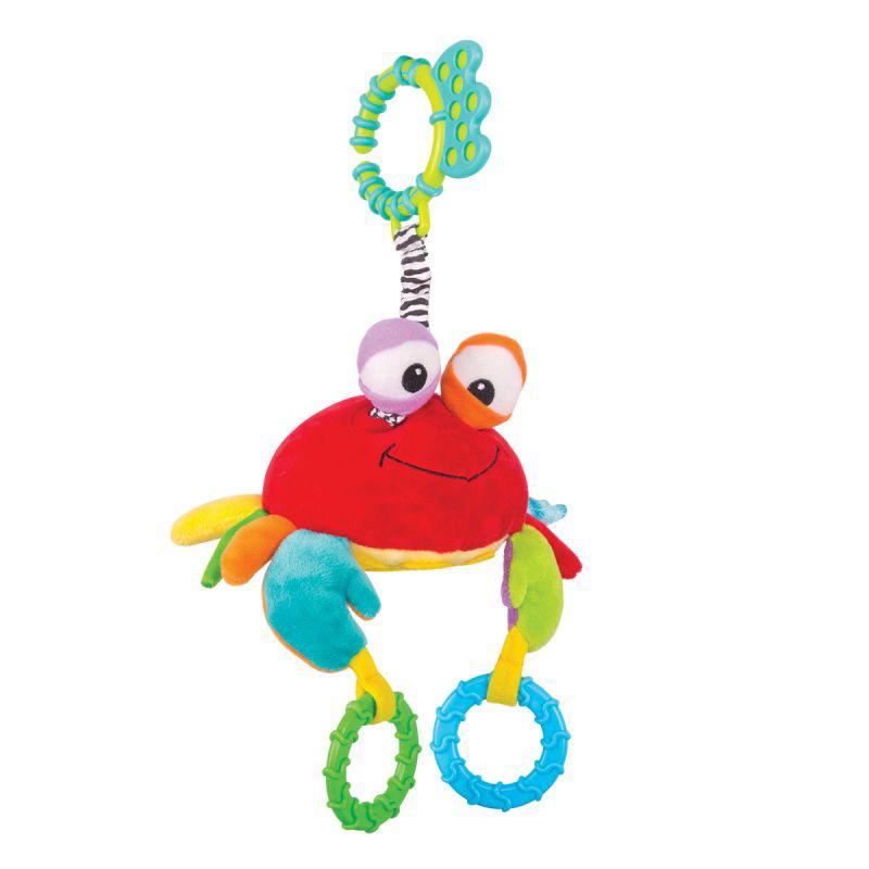 """Happy Snail Игрушка подвеска """"Краб Чарми"""""""