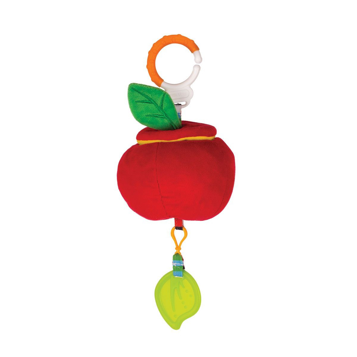 "Happy Snail Игрушка подвеска ""Кто в яблоке живёт"""