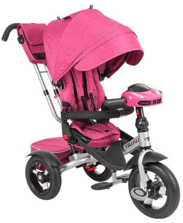 Трехколесный велосипед Luxury от Tech Team, Розовый