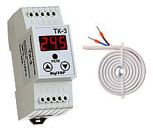 Терморегулятор ТК-3 (–50,0… 125,0°C, 10А)