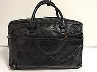 Дорожная сумка из экокожи. Высота 32 см,длина 48 см, ширина 20 см., фото 1