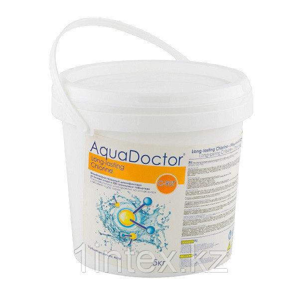 Aquadoctor С90-Т (5кг) медленно-растворимый дезинфектант на основе хлора, таблетки по 200гр